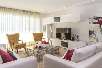Sala de estar - Apartamento de luxo