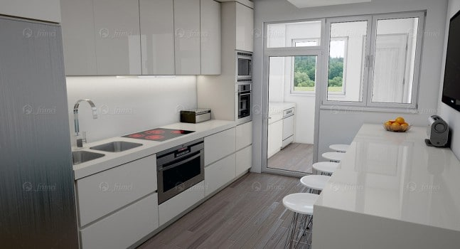 Cozinha - vivenda de luxo