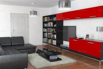 Sala de estar - Vivenda de luxo